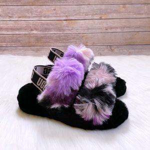 UGG Women's Oh Yeah Tie Dye Slide Slipper Sandals